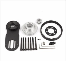 2019 New Arrival 83mm 90mm 97mm Electrical Skateboard 1800W Motor 5M Gear 270mm Belts Kit And Mount Parts Riserpad