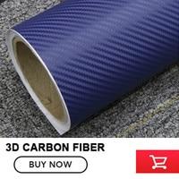 Top quality 1.52*30m/lot Blue 3D carbon film Car Motorcycle Sticker 3D Carbon Vinyl Fiber Wrapping film decoration film