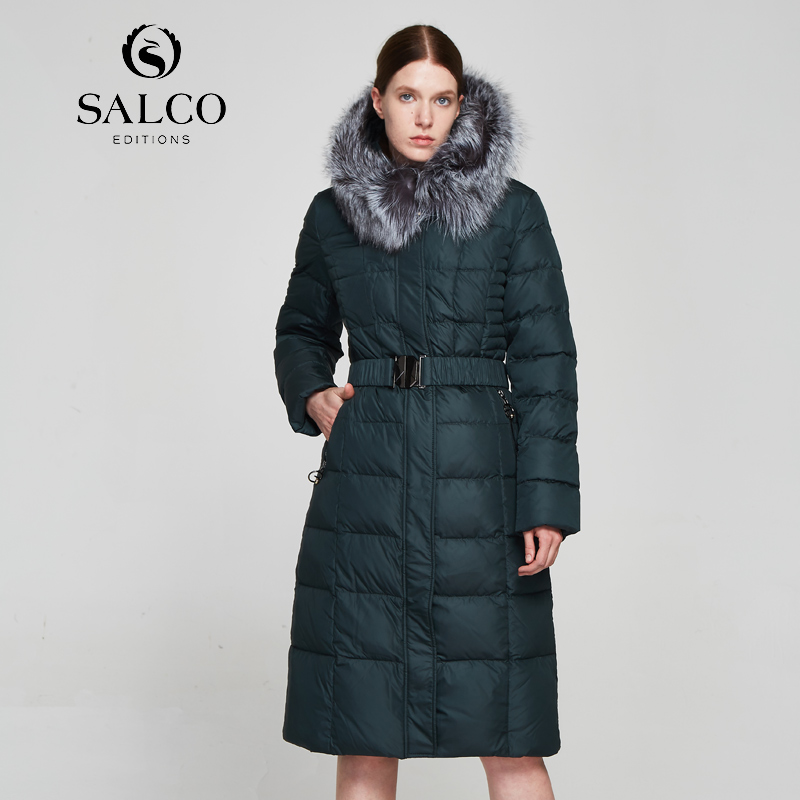 SALCO Free shipping In 2017, the latest high-end cotton clothes for women will be kept warm in winter orient часы orient sz3x003b коллекция sporty quartz