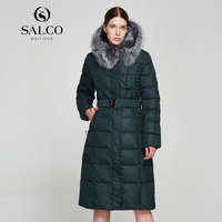 SALCO Free shipping In 2017, the latest high end cotton clothes for women will be kept warm in winter