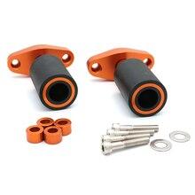 Für 125 200 390 2012 2013 2014 2015 Neue Orange CNC Rahmen Sliders Protektoren Schutz