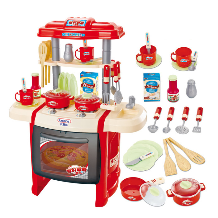 Hot sale educational toys baby kitchen toys child cooking for Best kitchen set for 4 year old
