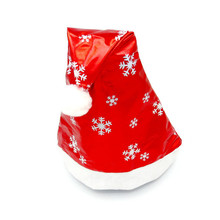 Shocking Show Christmas Party Santa Hat Red And White Cap for Santa Claus Costume New
