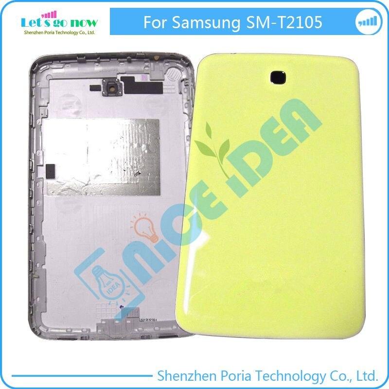 Flporia Новый Батарея Дверь для Samsung Galaxy Tab 3 sm-t2105 желтый чехол накладка задняя крышка 7 ''Запчасти для авто