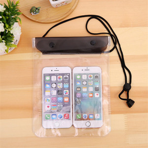 Waterproof Sports Clear Phone Bag Surfing Swimming Drifting Diving Pack Pouch Underwater Dry Case Phone Pocket