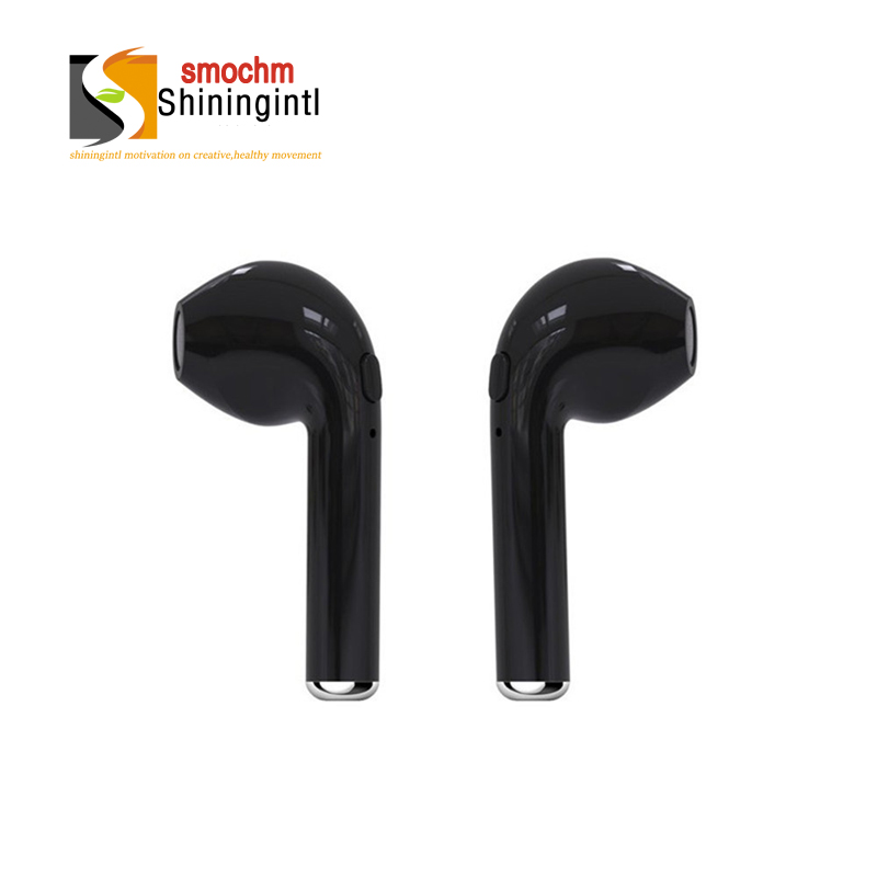 Smochm True Wireless Bluetooth V4.2 Charge Cabin Earphone Binaural Stereo Music I7s Tws Headset for iphone Xiaomi Huawei Samsung remax bluetooth v4 1 wireless stereo foldable handsfree music earphone for iphone 7 8 samsung galaxy rb 200hb