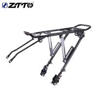 ZTTO Rear Cargo Rack Mountain bike Seat Carrier Bicycle Luggage Carrier Shelf Cycling Bag Holder Universal