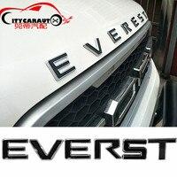 CITYCARAUTO 3D Car Styling 'Everest Front Engine Hood Logo 3D Emblem Sticker Fit for Everest 2013 2017 Accessories