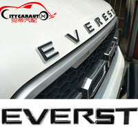 CITYCARAUTO 3D Car Styling 'Everest Front Engine Hood Logo 3D Emblem Sticker Fit for FORD Everest 2013 2017 Accessories