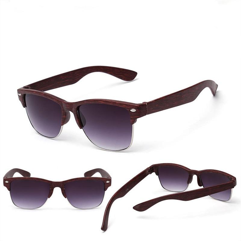 2019 neue Mode Holzimitat Damen Sonnenbrille klassischen Markendesign - Bekleidungszubehör - Foto 5