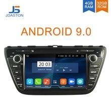 JDASTON 2DIN Android 9,0 автомобильный dvd-плеер для Suzuki SX4 S-Cross 2013 2014 2015 2016 автомобильный мультимедийный плеер GPS Радио стерео 4 Гб + 32 ГБ, восемь ядер