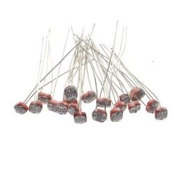 Фотопроводящий резистор LDR 5 мм x 5528, 20 шт., Оптово-розничная продажа