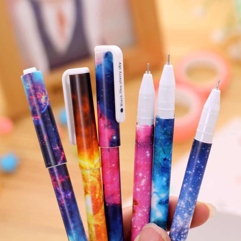 1 pièces kawaii orbe couronne Gel stylo ensemble clé Kawaii fournitures scolaires bureau papeterie Album Photo Kawaii stylos école papeterie