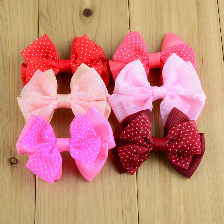 Online Get Cheap Tulle Hair Bows Alibaba
