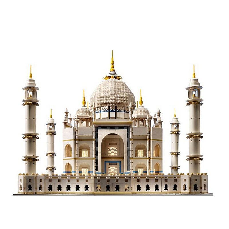 Lepin 17001 5952pcs The Tai Mahal Model Building Kits Brick Blocks Toys Compatible 10189 Children Educational Funny Gift lepin 02012 city deepwater exploration vessel 60095 building blocks policeman toys children compatible with lego gift kid sets