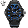 SMAEL Sport Watch Waterproof Dual Time Wristwatch LED Digital Watch  S Shock Men's Wristwatch reloj hombre relogio militarWS1516