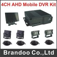 1080P Car DVR 1080N Mobile DVR 4CH Mobile AHD DVR Kit for Vehicles