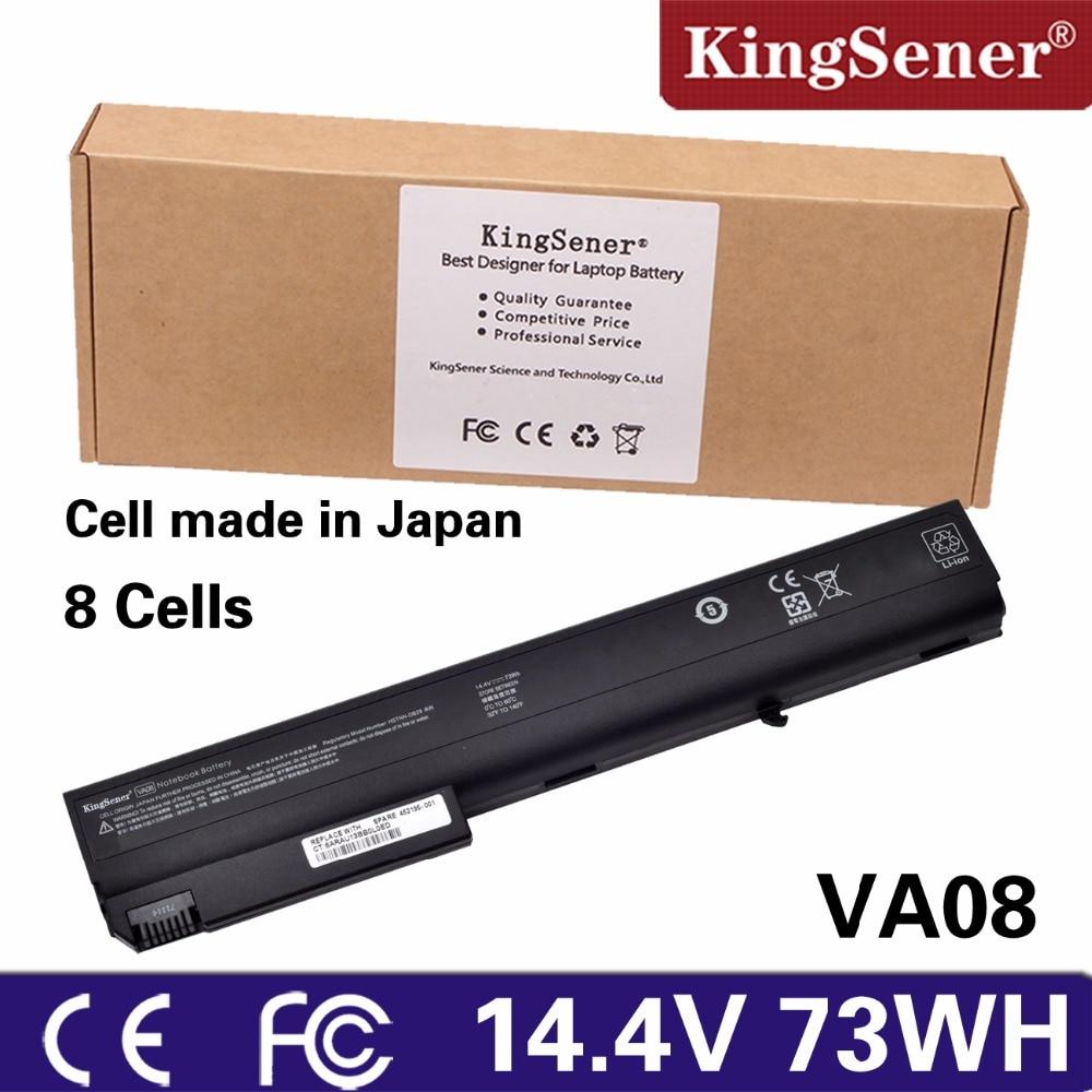 KingSener Japanese Cell VA08 Laptop Battery For HP nx7300 nx7400 NX8200  8510p 8510W 8710P 8710W NC8230 NC8200 NW8240 HSTNN DB29-in Laptop Batteries  from ...