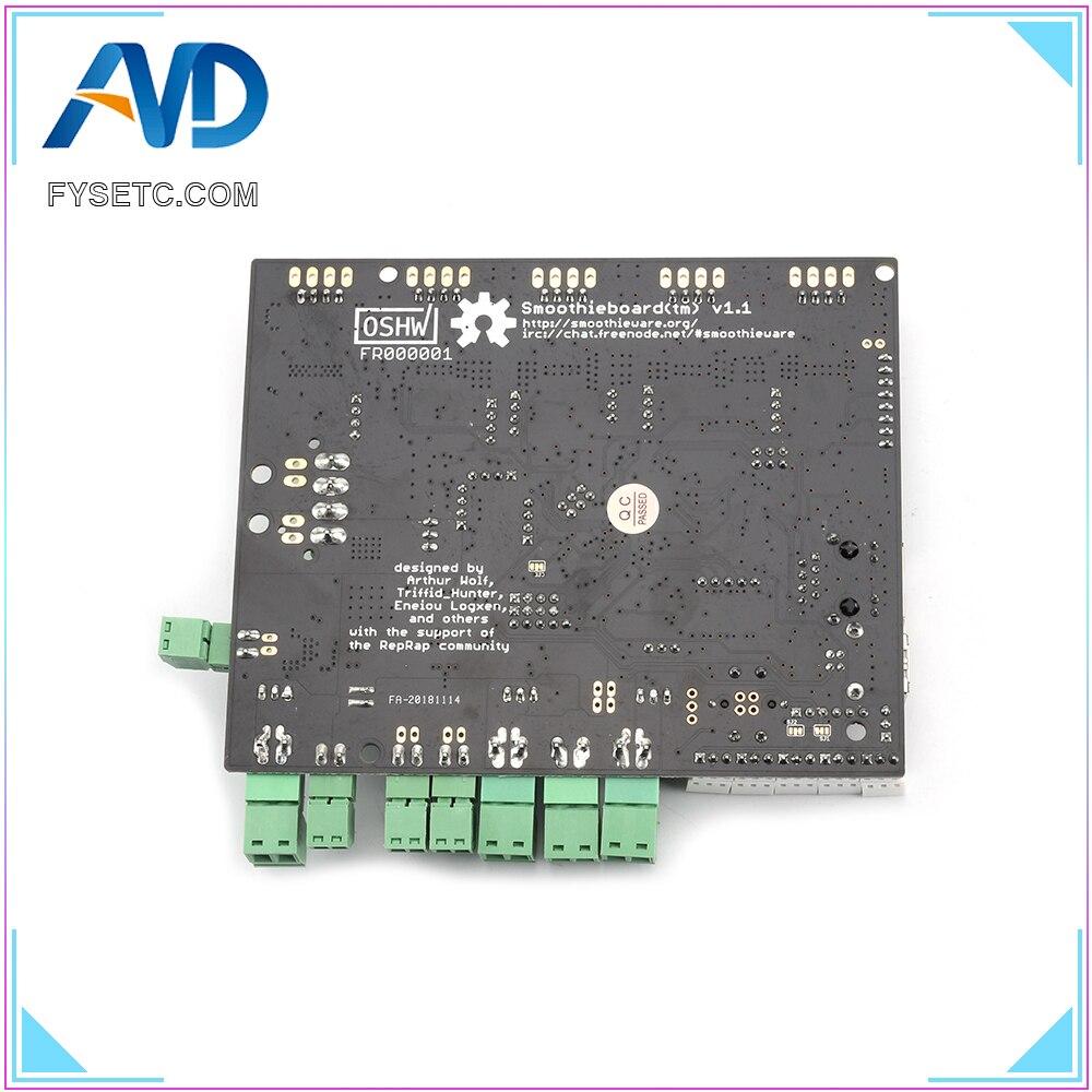 impressora 3d smoothieboard 5xc 5x v1 1 braco open source placa de apoio ethernet placa de