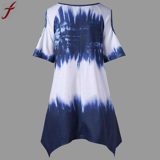 Summer Fashion Large Size Women Printing Blouse And Shirt  Plus Size O-Neck Short Sleeve Tunic Shirt  Casual Lady Big Size Tops# 3