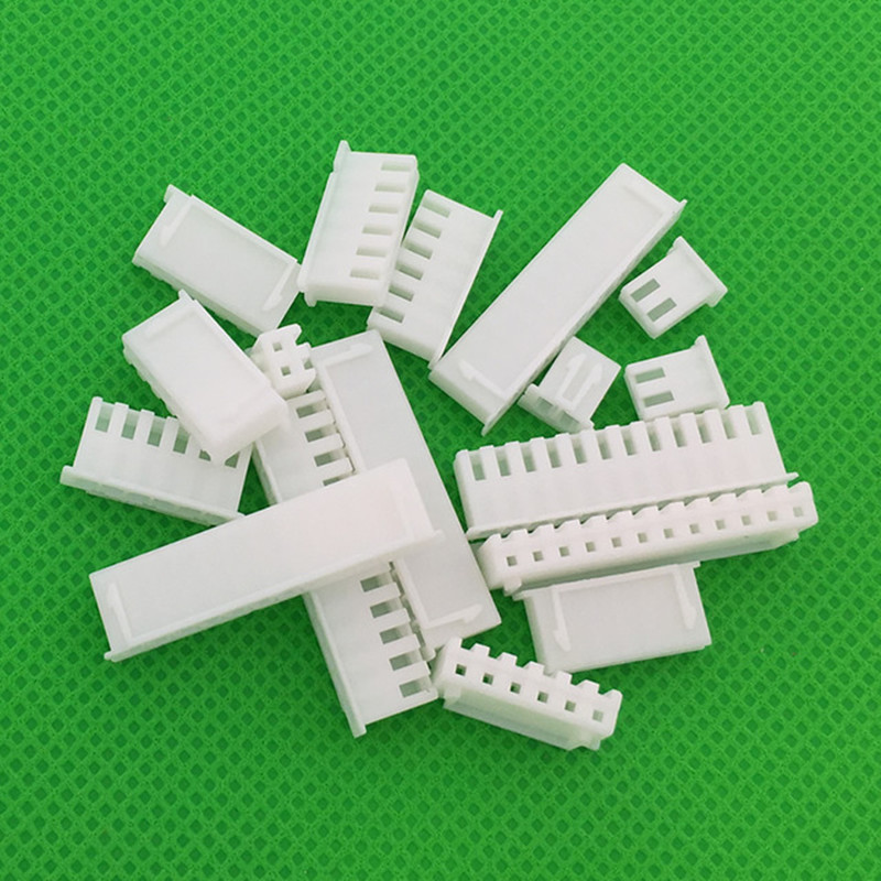 XH-Y 50pcs/LOT 2.54mm connector female material XH2.54 Connector Leads Header Housing 2P 3P 4P 5P 6P 7P 8P 10P 16P