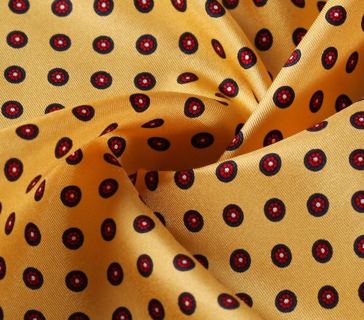 N281 HN28Y Yellow Red Polka Dot 35cm (4)