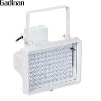 GADINAN 850nm инфракрасный 96 шт. светодиодный ночного видения водонепроницаемый CCTV заполняющий свет осветитель для Внутренняя и наружная систем...