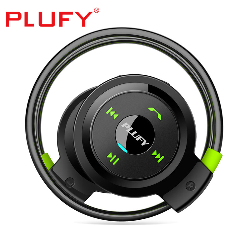 PLUFY L7 Earphones long standby headphone wireless bluetooth CSR4.1 earphones with microphone Music Headphones support TF Card цена