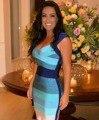 Nova marca de Alta Qualidade Gradiente Rayon Bandage Vestido Designer de 2015 Senhoras Bodycon HL Bandage Dress For Women