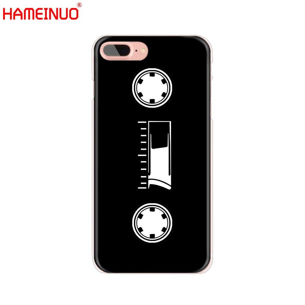HAMEINUO retro classic kaseta unikalna konstrukcja obudowa telefonu komórkowego etui dla iphone'a x 8 7 6 4 4S 5 5S SE 5c 6s plus