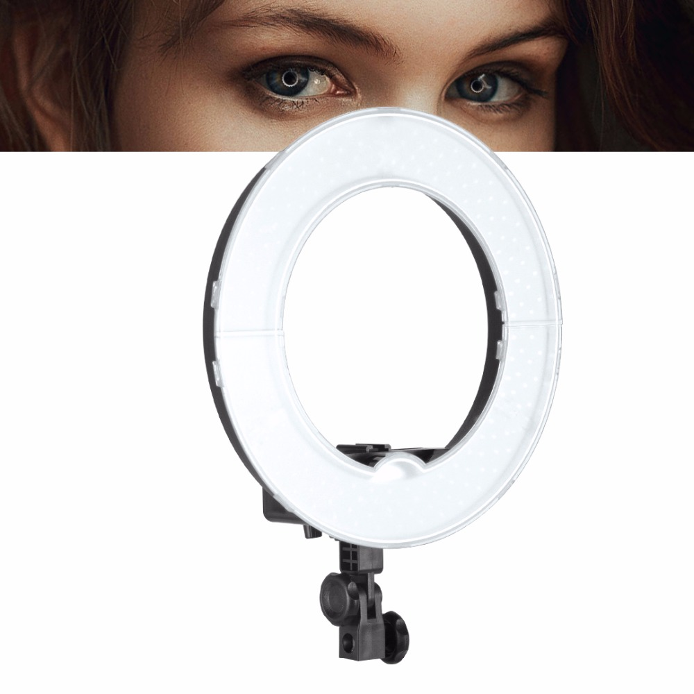 Meking Camera Photo Video 10 Outer 40W 180PCS LED Ring Light 5500K Dimmable Photography Ring Video Light for Camera Fill Light 1pc 150w 220v 5500k e27 photo studio bulb video light photography daylight lamp for digital camera photography