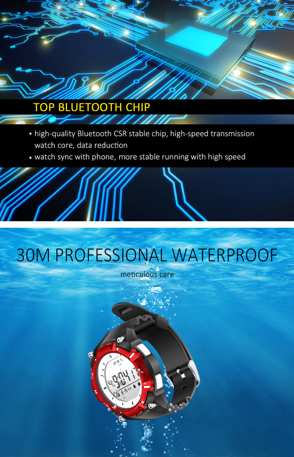2017 New SW08 Smart Watch Bluetooth 4.0 Smartwatch LED 1.3 Inch Screen Health Tracker Calendar Waterproof Watch For Android IOS (1)