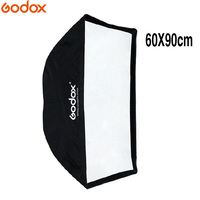 Godox Portable 60 * 90cm / 24 * 35 Universal Pro Studio Photo Softbox Umbrella Reflector For Flash Speedlite Light Speedlight