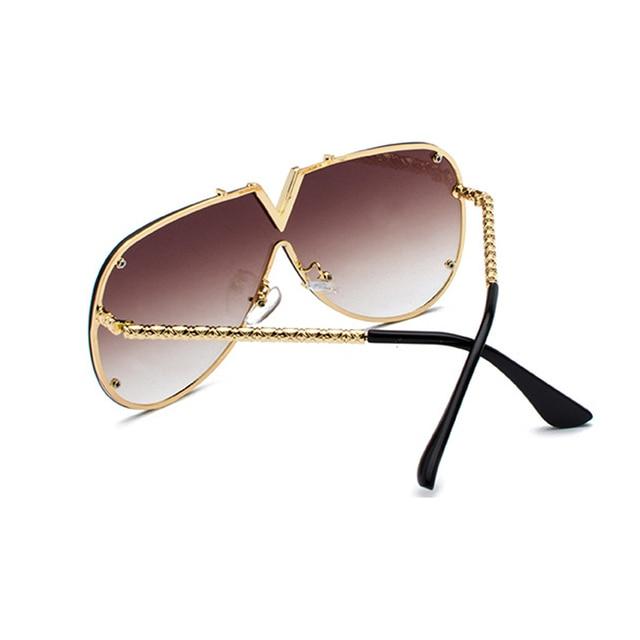Mens Sunglasses Fashion Oversized Sunglasses Men Brand Designer Goggle Sun Glasses Female Style Oculos De Sol UV400 O2