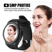 Microwear 3G Smart Camera Watch Heart Rate Monitor Pedometer 5MP Smart Sport Watch