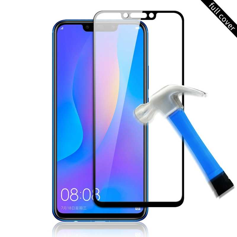 Tempered Glass For Huawei Y9 P Smart 2019 Mate 10 lite Nova 3i 3   P20 Pro P30 Lite Y6 prime 2018 Case Screen Protector Glass Fi