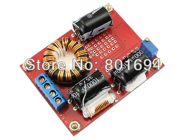 цена на Low Interference DC-DC Boost Converter 8V-32V to 12V-35V 19V 24V 3A-4A Industrial Volt Step Up Power Supply Module 72W