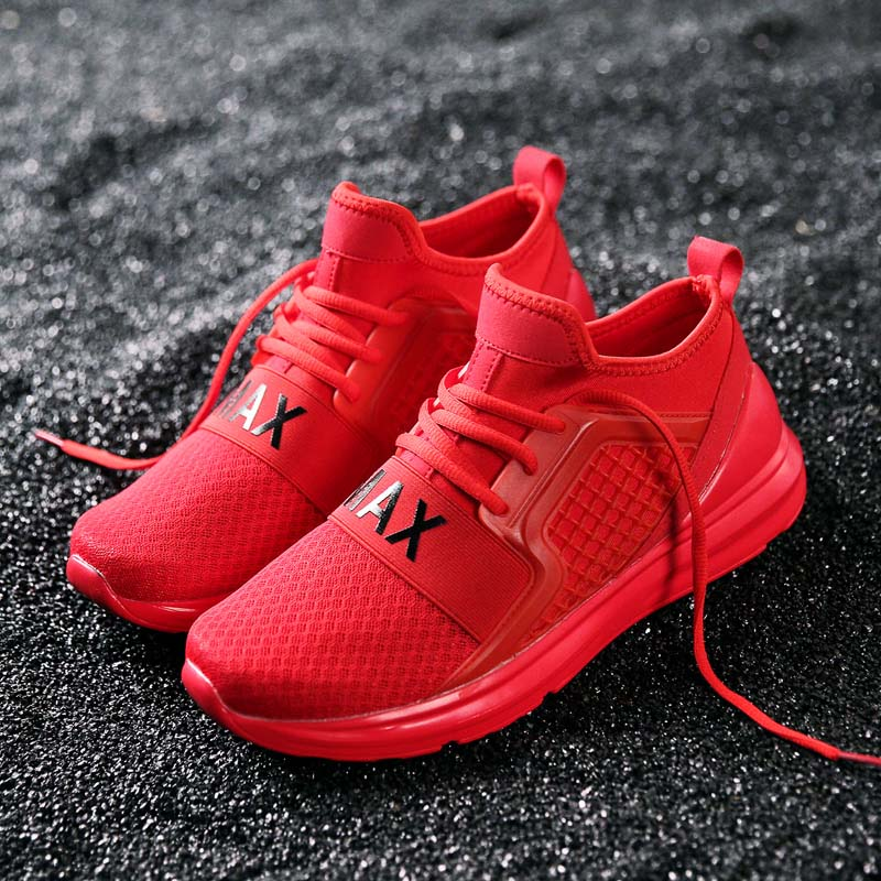 Bomlight из дышащего сетчатого материала Уличная обувь Для мужчин 2018 Демисезонный Спортивная обувь Для мужчин Обувь для прогулок Мужская обувь Размеры 39-48