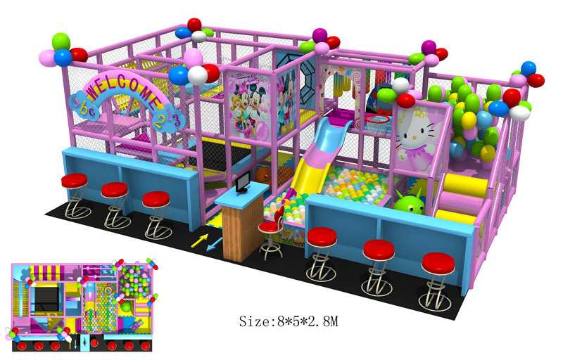 CE Approved Children Playground Nontoxic Plaza De Juegos Top Quality ...