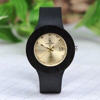 BOBO BIRD Bamboo Watch With Genuine Leather Band Relogio Feminino Luxury Bamboo Customed Watch With Paper