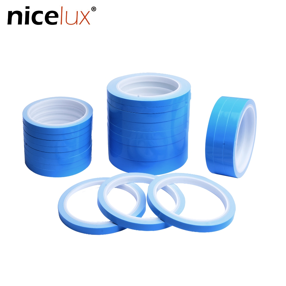 5m 10m/Roll Thermal Conductive Adhesive Tape 8mm 10mm 12mm 20mm Width Transfer Double Side Tape For Chip PCB LED Strip Heatsink
