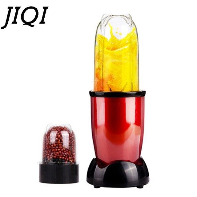 JIQI Mini Portable Electric Juicer Blender Baby Food Milkshake Mixer Meat Grinder Multifunction Fruit Juice Maker Machine EU US 1