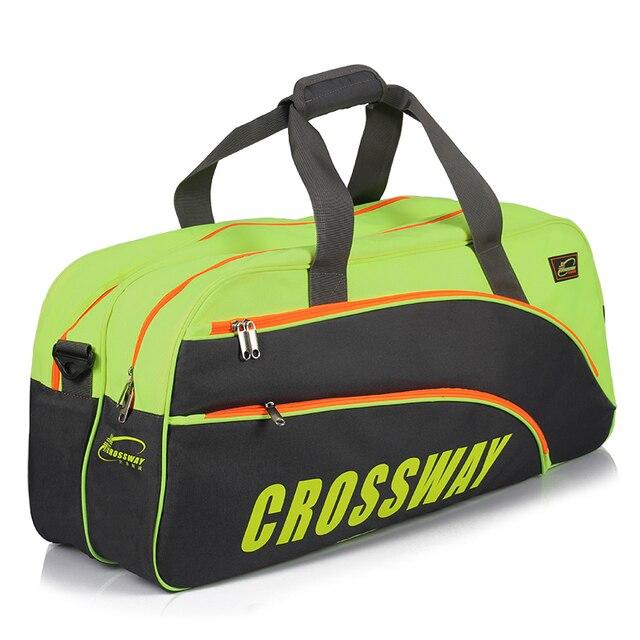 Crossway Large Capacity Shape Tennis Backpack Black Green Wear Resistant Bag Sports 6