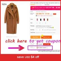 Новинка 2018 года плюшевое пальто искусственный мех для женщин зимнее длинное 4 цвета корабль в течение 3 дней