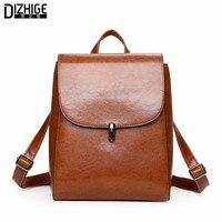 Fashion Woman Backpack 2017 Leather Brands Female Backpacks High Quality Schoolbag Backpack Elegant Mochilas Escolar