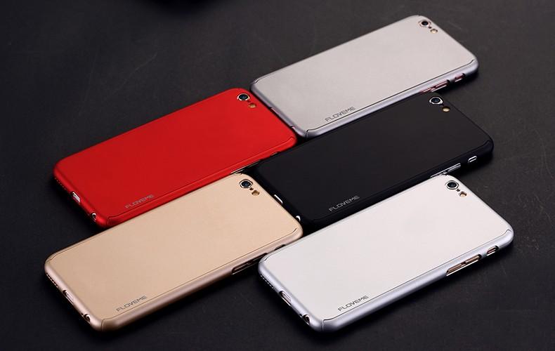 Floveme 6 s 7 plus armor screen protector 360 stopni case dla iphone 7 6 6 s dla iphone 6 6s 7 plus full chroń odporny na wstrząsy pokrywa 20