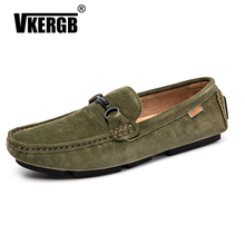 2019 Spring Men Loafers Luxury BrandDesign Slip On Casual Shoes Summer High Quality Soft Flat Leather Boat