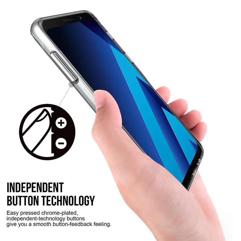 TOIKO Chiron حافظة شفافة لهاتف سامسونج جالاكسي A8 A530 SM-A530F 2018 حافظة شفافة مضادة للصدمات من البولي يوريثان