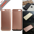 New 10000 Mah Backup External Battery Charger Case For iphone 6 4.7 inch Power Bank Cover ,3 colours free shipping