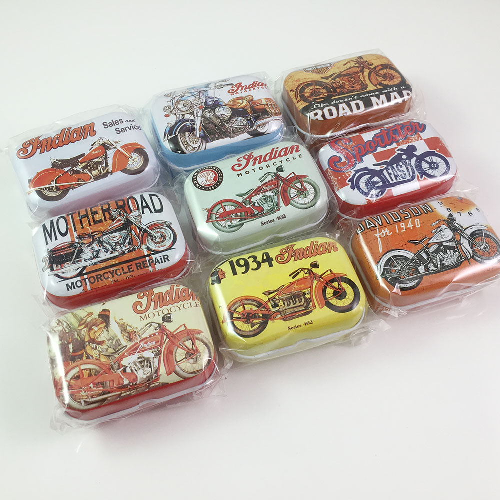 Weihnachtsgeschenke Für Jungs 16.Us 15 99 16 Teile Los Personalisierte Weihnachtsgeschenke Spielzeug Für Jungen Kleine Motorrad Muster Tee Cookies Aufbewahrungsbox Candy Metall